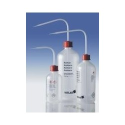 """Sicherheitsspritzflasche """"Methanol"""" 1000 ml PELD enghals mit"""