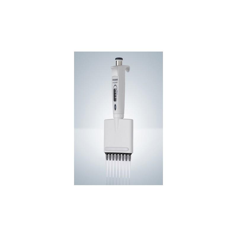 8-kanałowa pipeta pipeta cyfrowa zmienna objętość 10…100 µl