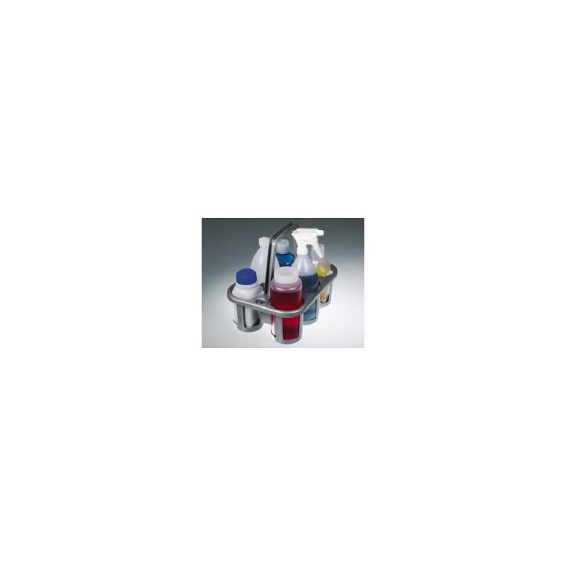 Bottle carrier for 6 bottle PE-HD