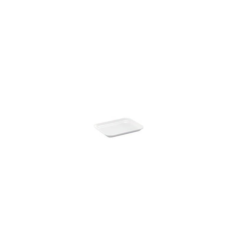 Instrument tray MF white flat 190x150x17 mm pack 5 pcs