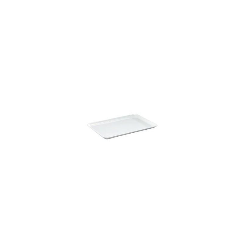 Instrument tray MF white flat 360x240x17 mm pack 5 pcs