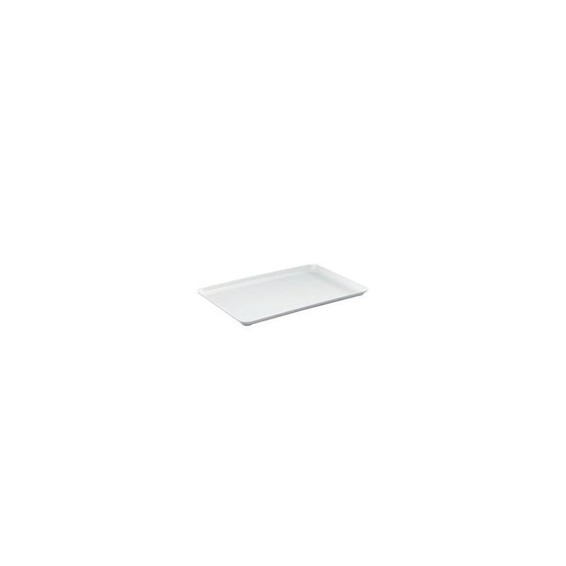 Instrument tray MF white flat 420x280x17 mm pack 5 pcs