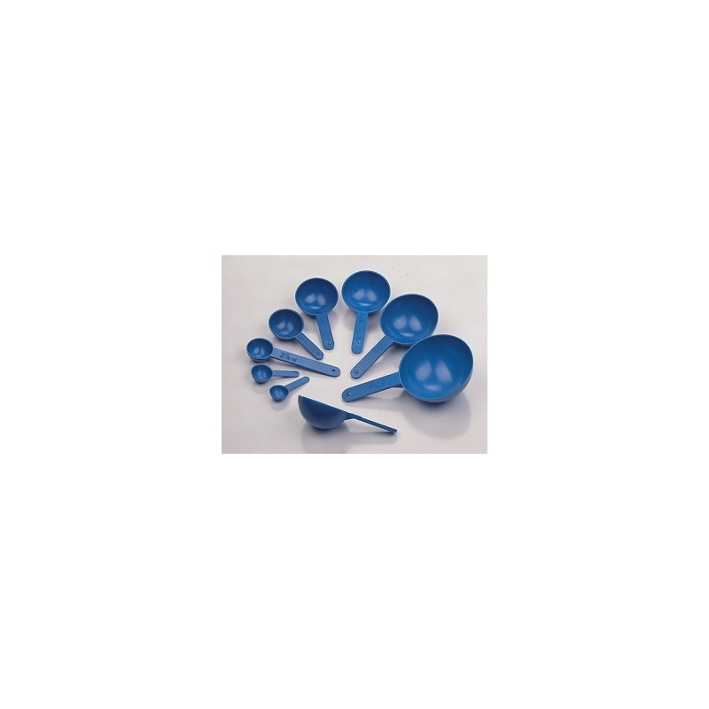 Messlöffel-Set 0,5…50 ml PS blau Set a 8 St.