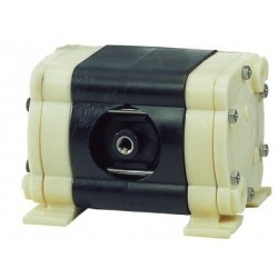 Ölfreie Doppelmembranpumpe Gehäuse PVDF Membran PTFE 16 L/ min