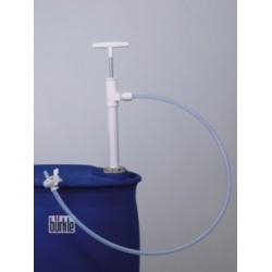 Fasspumpe PP with discharge hose and stopcock Immersion depth