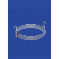 Alu rings with hooks NS29-24 pack 10 pcs.
