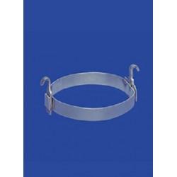 Pierścienie aluminiowe z hakami NS29-24 op. 10 szt.