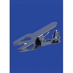 Fork clamps for spherical joints with set screw KS 35