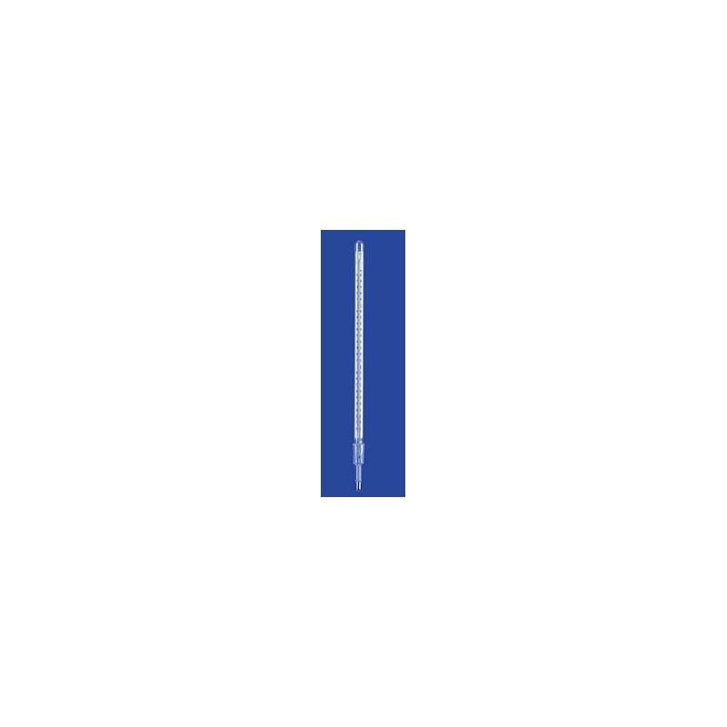 Termometer destylacyjny 0…+150 °C NS14/23 rtęć dł. montaż. 55 mm