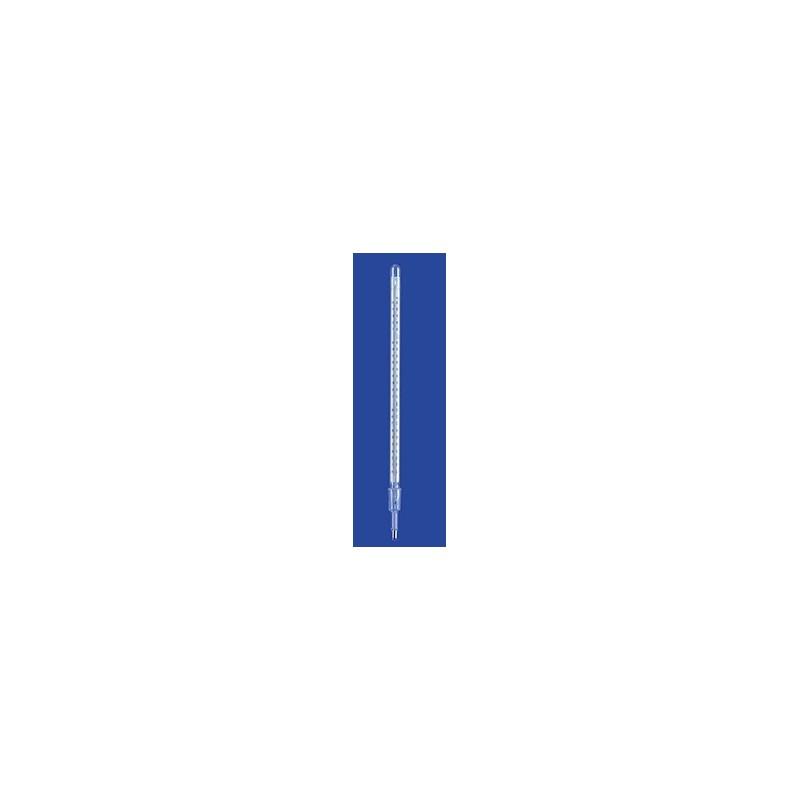 Termometer destylacyjny 0…+250 °C NS14/23 rtęć dł. montaż. 85 mm