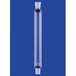 Kolonne nach Hempel Füllkörperträger Kern/Hülse Mantel Glas
