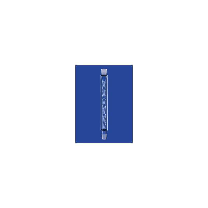 Kolumny Vigreux NS 14/23 z nałożonym płaszczem szklanym dł.