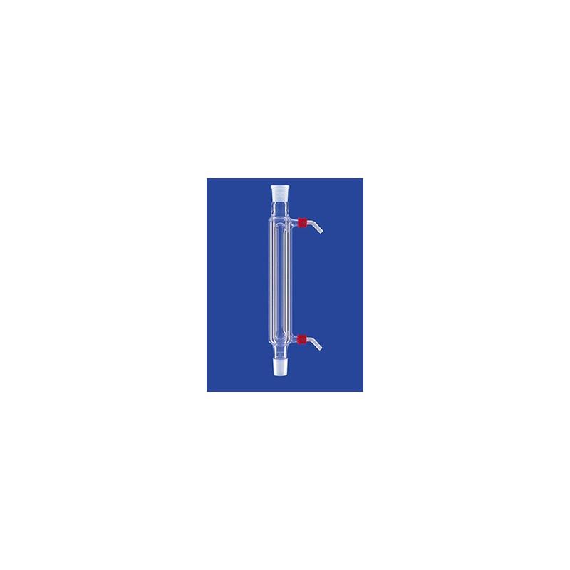 Davies-Kühler mit Kern und Hülse NS24/29 Wasseranschluß GL 14