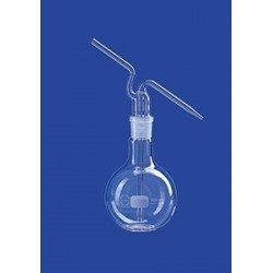 Wash bottle 1000 ml glass complete