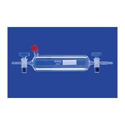 Gas-Probenrohr mit Entnahmestutzen 350 ml Gewinde GL 14 Glas