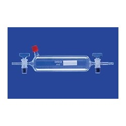 Cylinder szklany z króćcem GL 14 poj. 1000 ml