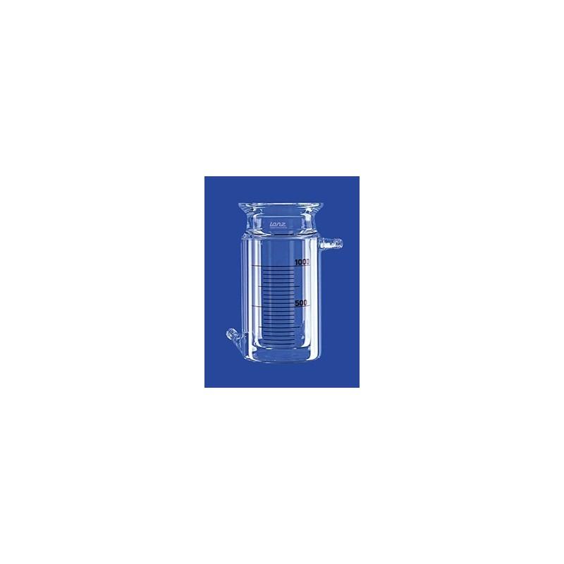 Naczynie reakcyjne 0,1 L cylindryczne płaszcz grzejny KF 15
