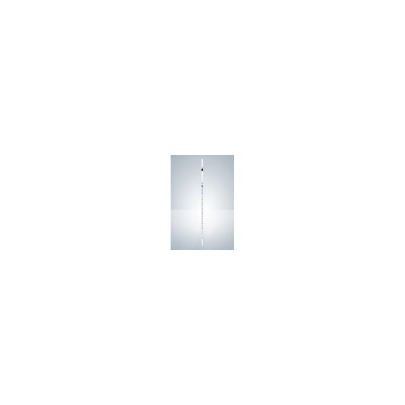 Pipeta wielomiarowa AS 10:0,1 ml szkło Cert. pełny wylew nieb.