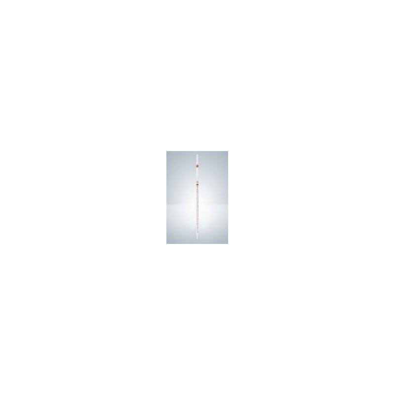Messpipette AS 0,5:0,01 ml AR-Glas KB Nullpunkt oben braun