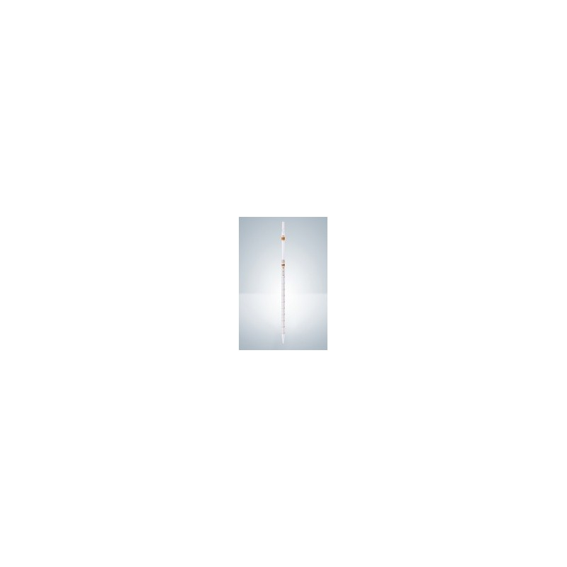 Pipeta wielomiarowa AS 5:0,1 ml szkło AR Certyfikat zero na