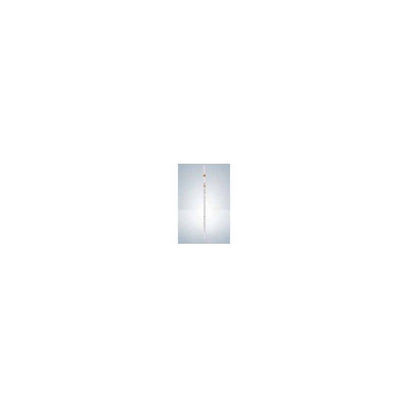 Messpipette AS 1:0,01 ml AR-Glas KB teilweiser Ablauf braun