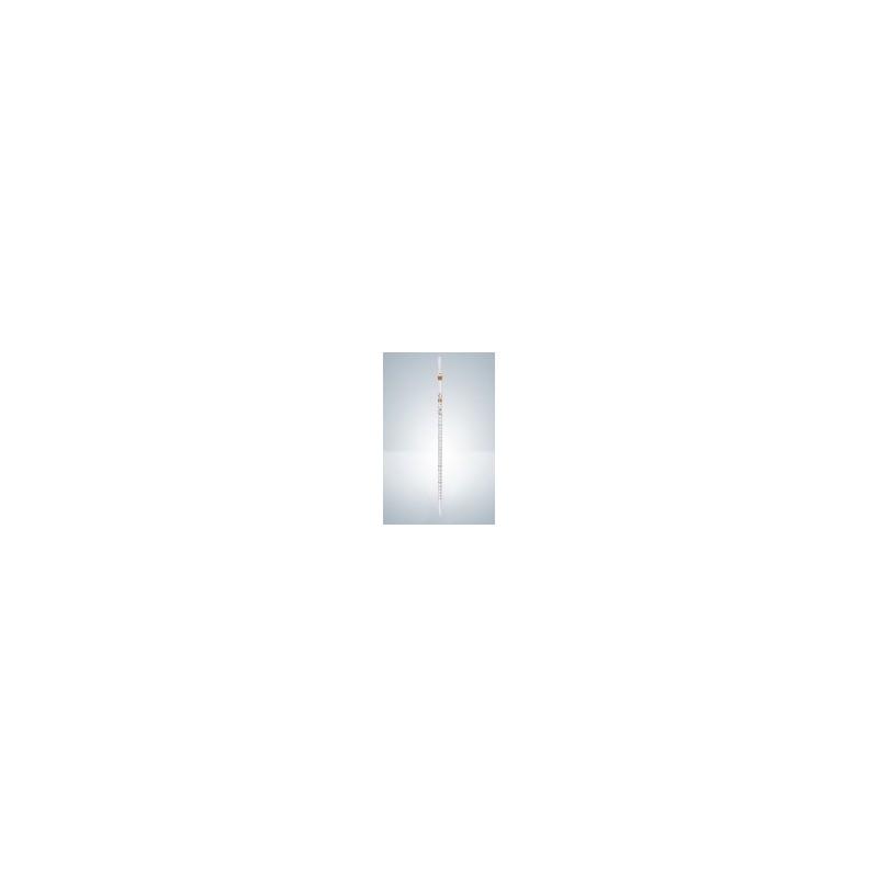 Messpipette AS 2:0,1 ml AR-Glas KB teilweiser Ablauf braun