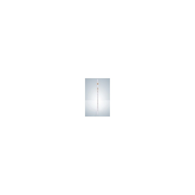 Messpipette AS 25:0,1 ml AR-Glas KB teilweiser Ablauf braun