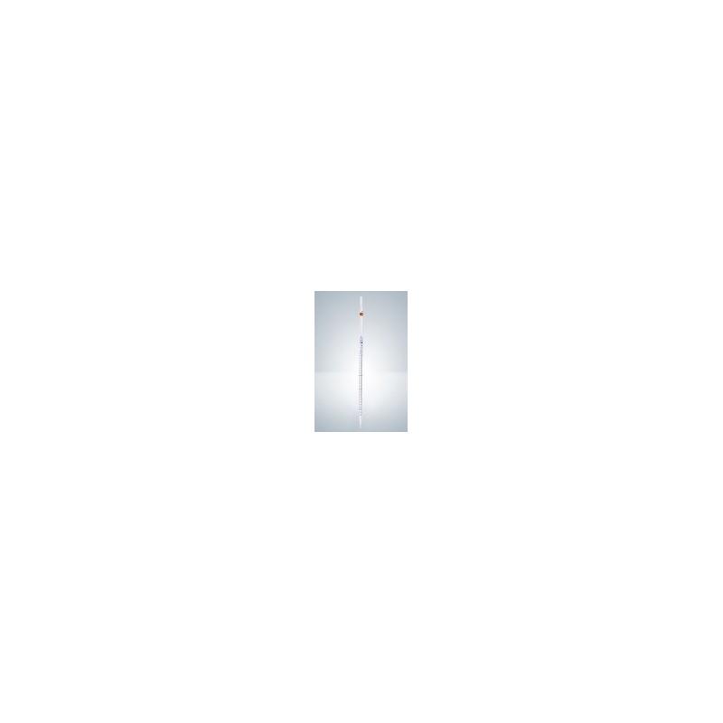Messpipette AS 2:0,1 ml AR-Glas KB völliger Ablauf Nullpunkt