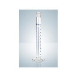 Cylinder do mieszania klasy B 10 ml korek z tw. niebieska