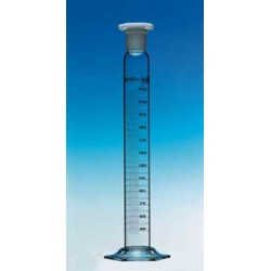 Mischzylinder 100 ml Duran Klasse A KB Ringteilung PE-Stopfen