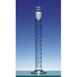 Mischzylinder 10 ml Duran Klasse A KB Ringteilung Glasstopfen