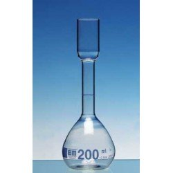 Volumetric flask acc. to Kohlrausch 200 ml Duran CC sugar