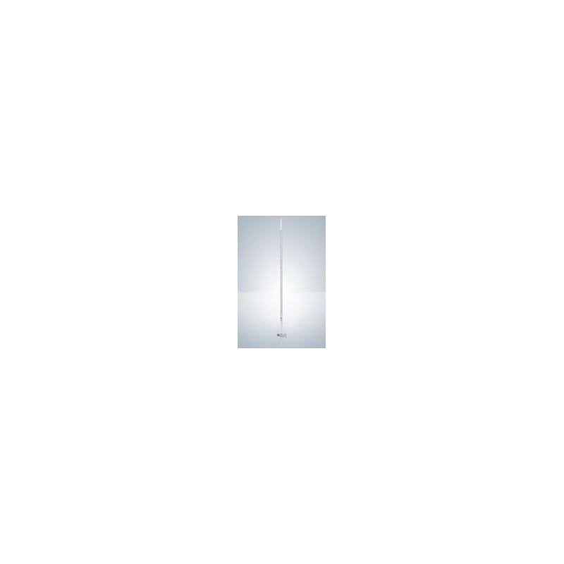 Bürette 10:0,02 ml Duran Klasse AS gerader Glashahn schwarz