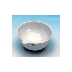 Abdampfschale 115 ml Ø 100 mm Ausguss glasiert ohne Stellfäche