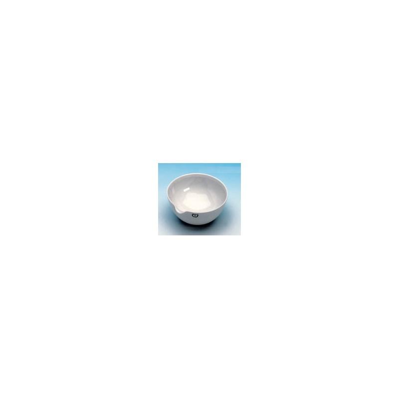 Evaporating basin 115 ml Ø 100 mm spout glazed without base