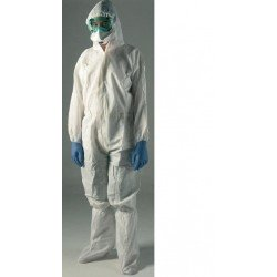 Coverall for protection against chemical and biological agents