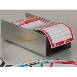 Close-it control seal dispenser for labels with 95x95 mm