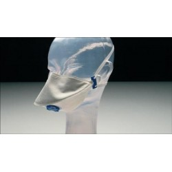 Filt. face mask CE respiration protection against bio. agents