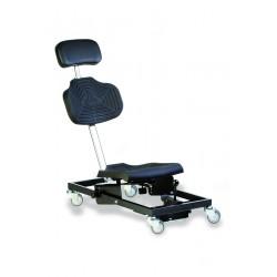 Krzesło do pracy w pozycji leżącej WS1281 siedzisko/oparcie z