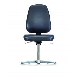 Chair with glides WS1711 RR ESD Classic seat/backrest with