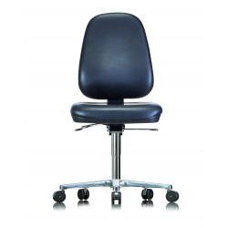 Chair with castors WS1720 RR ESD Classic seat/backrest with