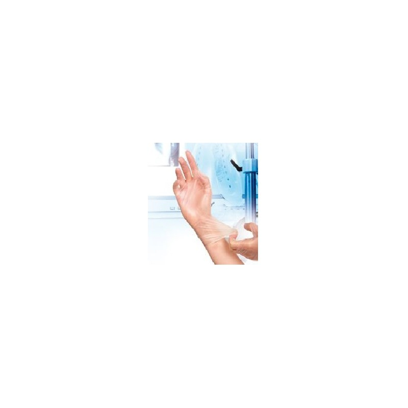 Vinyl gloves Semperquard powder-free size S pack 100 pcs.