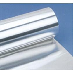 Folia aluminiowa szerokość 450 mm długość 150 m grubość 0,015 mm