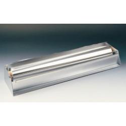 Folia aluminiowa szerokość 450 mm długość 100 m grubość 0,030 mm