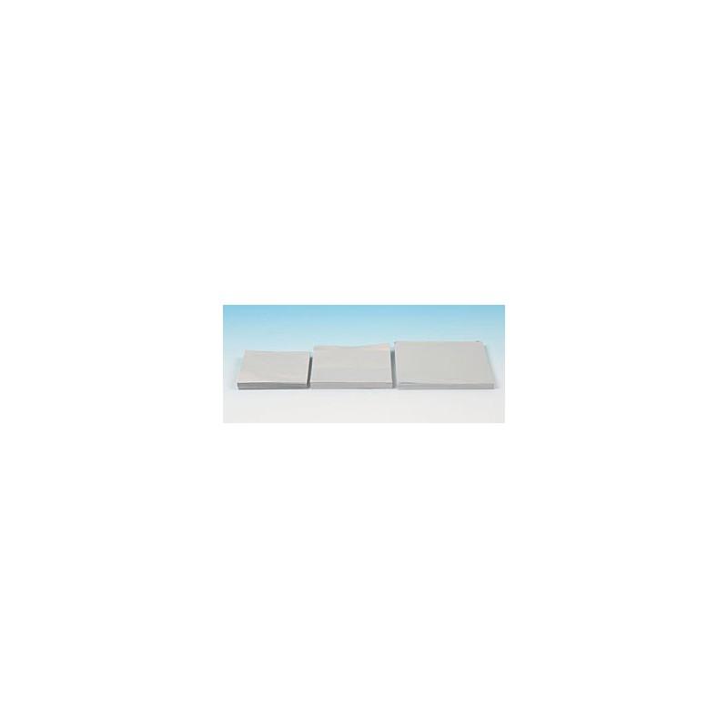Alu sheets foil gauge 0,03 mm width/length 80/80 mm pack 1000
