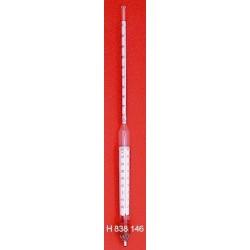 Areometr z termometrem do testowania olejów mineralnych