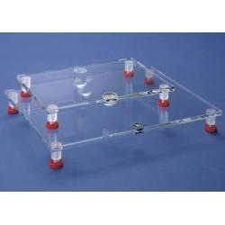 Stół niwelujący z poziomicą 400x300 mm