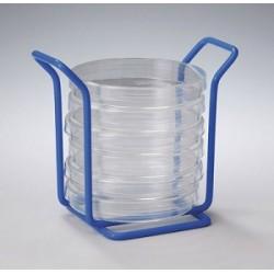 Poxygrid Mini rack für 6 Petrischalen