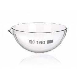 Abdampfschale 15 ml Borosilikatglas 3.3 Ausguss runder Boden VE