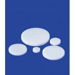 Filterplatte Glas Boro 3.3 zentriert Rand unverschmolzen Ø 20